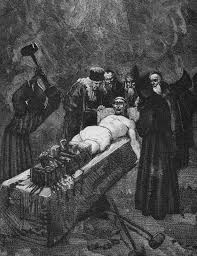 Grandier accused by the nuns of witchcraft incest and sacrilege.
