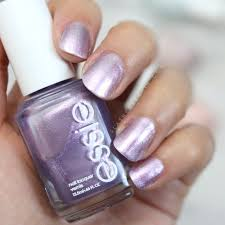essie world is your oyster shimmery lilac nail polish see swatches of the 2018