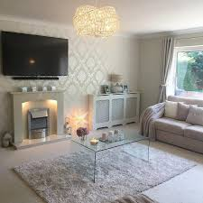 40 glitter wallpaper living room ideas