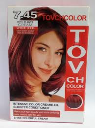 wine red hair colour
