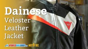 dainese veloster leather jacket review