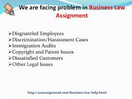 business law assignment help usa toll