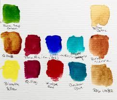 Umber Color Chart My Little Travel Palette Elisha Dasenbrock