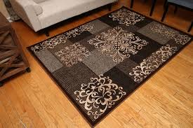 contemporary wool area rugs elegant new brown beige grey black modern contemporary fl wool