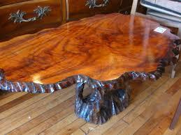 Tree Trunk Coffee Table Furniture