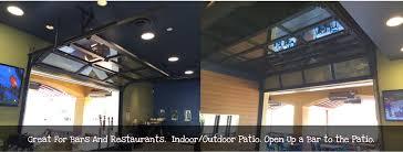 glass garage doors restaurant. Contemporary Garage Door. Great For Bars And Restaurants Glass Doors Restaurant