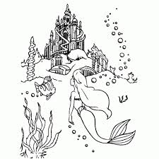 Kleurplaat Ariel