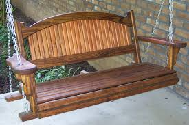 Classic Freestanding Front Porch Swing