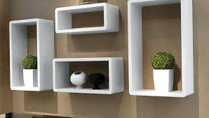 floating glass corner shelves ideas singular wall mounted and