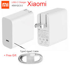 <b>Original Xiaomi</b> 45W charger <b>Mi</b> 65w <b>USB</b> C <b>Output</b> Rate Socket ...