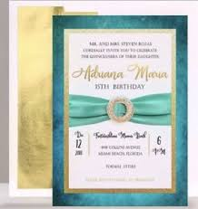 Quincenera Invitations Details About 25 Beautiful Quinceanera Invitations With Envelope Designed Approved Printed