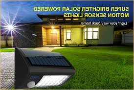 superb exterior house lights 4. LED Super Bright Solar Lights With Motion Sensor For Security Easy To Install Maintenance Free Water Superb Exterior House 4