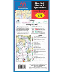 Chart Of New York Harbor Maptech New York Harbor And Approaches Waterproof Chart 5th Edition 2011