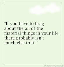 Quotes About Bragging
