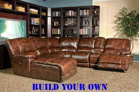 mars coffee leather build your own reclining sectional by parker house mmar 811 larger photo