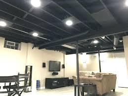 basement lighting. Exposed Basement Lighting P