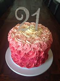 Cake Designs For 21st Birthday For A Girl 21st Birthday Cake