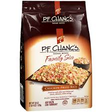 the same p f chang s en fried rice you know and love is now available in our new family size we ve blended our authentic fried rice with juicy white