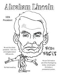 lincoln coloring page coloring page fun facts coloring page free printable coloring sheets lincoln penny coloring