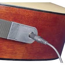 neotech slimline acoustic guitar strap end pin jack version long arts