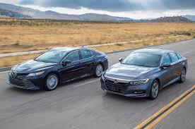 2018 Honda Accord 1 5t Vs 2018 Toyota Camry 2 5 Comparison