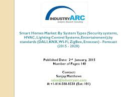 1 smart homes market by system types security systems hvac lighting control