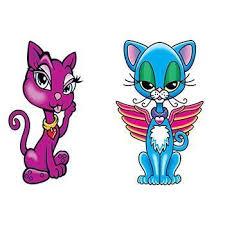 Kočky Dvě Barevné