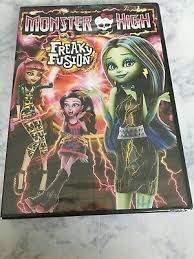 Monster High: Freaky Fusion DVD, Geeg Friedman, Paula Rhodes, Laura Bailey,  Step 25192220180 | eBay