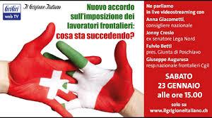 Nuovo accordo tra Italia e Svizzera per imposizione frontalieri - YouTube