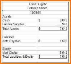 simple balance sheet example simple balance sheet example authorization letter pdf