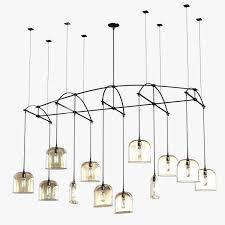 holly hunt bow chandelier 3d model max obj 3ds fbx mtl 1