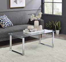 Modern in designs is not associated or affiliated with herman miller, knoll, fritz hansen, eero aarnio, saarinen or other companies. Amazon Com King S Brand Modern Design Chrome Finish With Glass Top Cocktail Coffee Table Furniture Decor