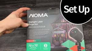 Laser Star Light Red Green Noma Starlight Motion Projector Red Green Unboxing Set Up Manual