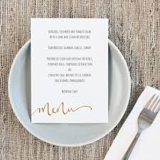 pages menu template printable wedding menu template instant download calligraphy