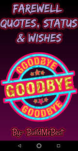 Farewell Quotes Wishes Status Thoughts Messages For Android Apk