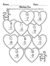 Math Touch Points Chart Valentines Touch Points