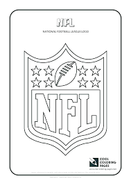 Football Coloring Pages Pictures Of Nfl Players Logo Redskins