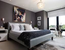 Luxury Master Bedroom Furniture Dark Chevron Flourish Pattern Wallpaper Background Custom Made