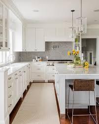 white kitchen grey backsplash.  Grey Grey Marble Herringbone Backsplash Intended White Kitchen Y
