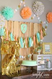 Gold Birthday Decorations 17 Best Images About Gold Pink Party On Pinterest Fine Paper