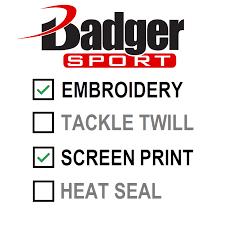Badger Softball Pants Size Chart Badger B Core 1 4 Zip Pullover Shirt 4102 2102
