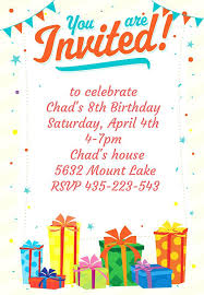 create party invitation create free birthday invitations free birthday cards to print for