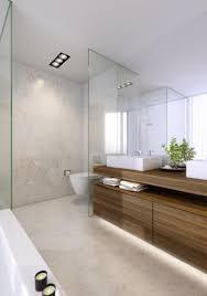 Marvelous Small Bathroom Using Oak Wood Narrow Vanity Design Feat ...