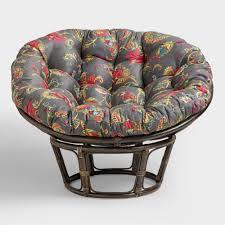 papasan furniture. Antigua Micro Suede Papasan Chair Cushion Furniture D