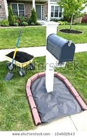 Mailbox landscaping ideas Perennial Mailbox Landscape Designs Mailbox Design Ideas Brick Mailbox Landscaping Inspirations Oursecondhomeorg Mailbox Landscape Designs Landscaping For Our Would Look Awesome
