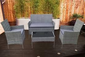 4 seater rattan garden furniture offer
