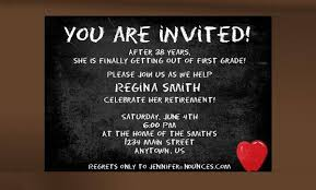 Party Templates 36 Retirement Party Invitation Templates Free Download