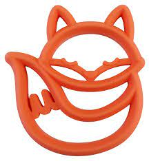 Amazon.com : Itzy Ritzy Silicone Baby Teether – BPA-Free Infant Teether  with Easy-to-Hold Design and Textured Back Side to Massage and Soothe Sore,  Swollen Gums, Fox : Baby