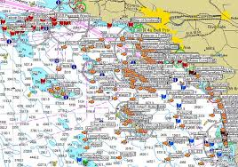 Fishing Charts Mapping Gps Coordinates How Our Spots Work Gps Fishing Maps
