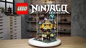 LEGO NINJAGO City Gardens   LEGO Designer Video 71741  10 Year Anniversary  - YouTube
